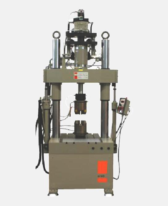 Machine bi-axial de traction/torsion
